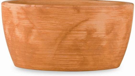 Vaso ovale resina iris cm36