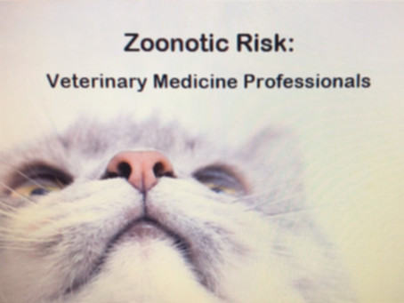 Emerging concern- Veterinary Professionals: