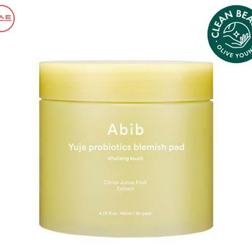 [Abib]アビブ ゆずプロバイオティクスブレミッシュパッドビタライジングタッチ