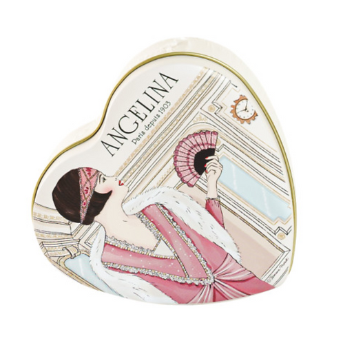 [アンジェリーナ]プラリネチョコレート ハートケース