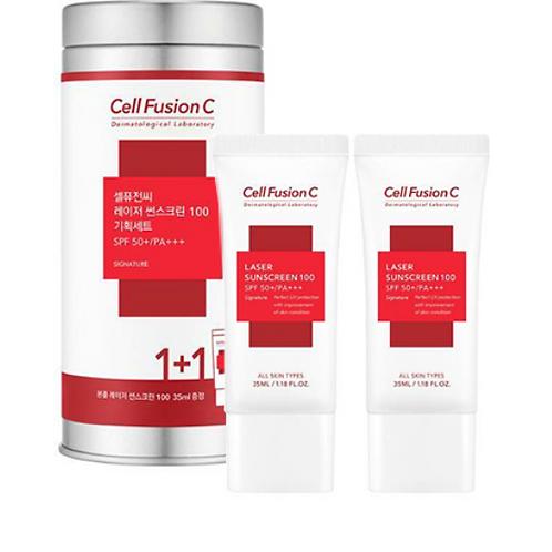 [Cell Fusion C]セルフュージョンC レーザーサンスクリーン100 35ml×2