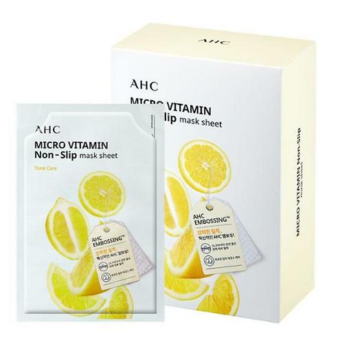 [AHC]マイクロビタミンノンスリップマスクシート 10枚