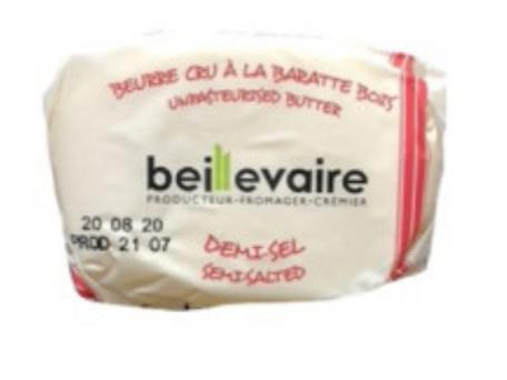[ベイユヴェール]ベイユヴェール有塩バター125g