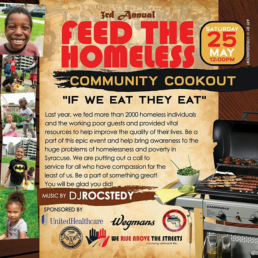 Cookout for the Homeless