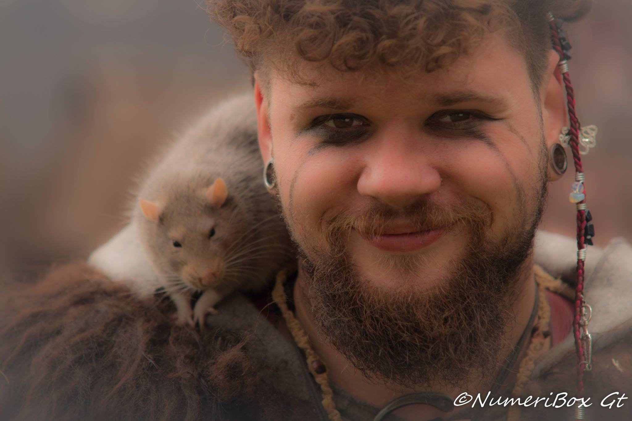 Pagan & son rat Fenrir