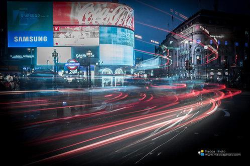 London - Piccadily Circus - Long Exposure