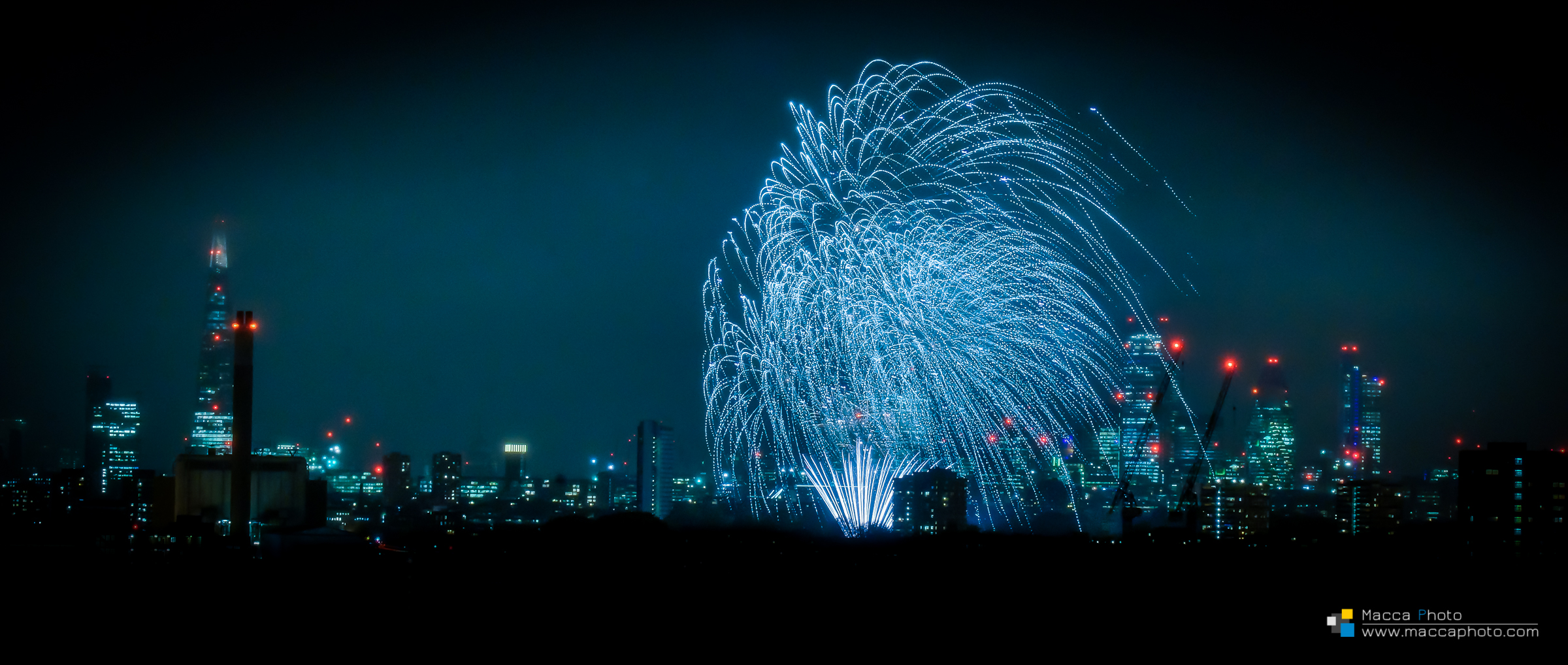 London Fireworks 3