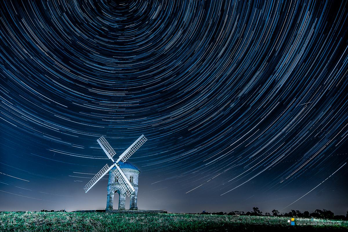 Chesterton Windmill Star Trail