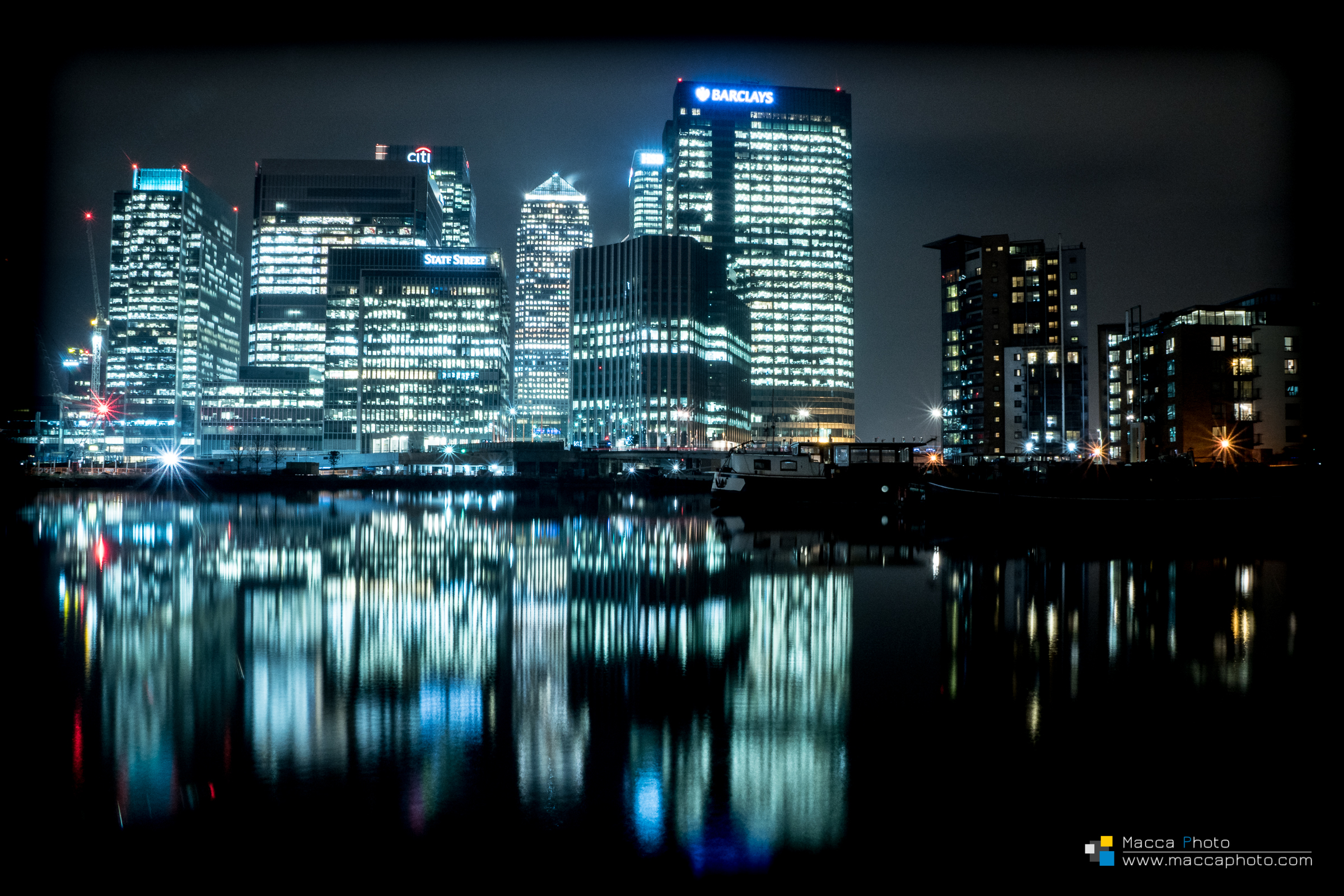 Canary Wharf - Long exposure 3