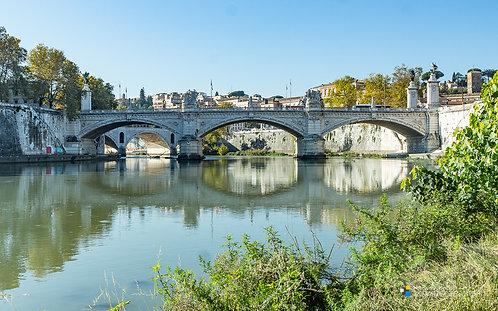 Italy - Rome - Ponte Vittorio Emanuele II