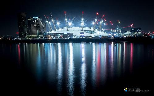 London - Millenium Dome - Reflection