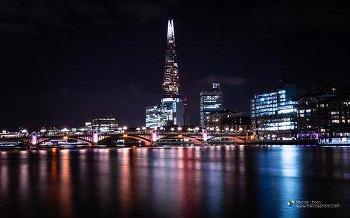 London - The Shard - Reflection