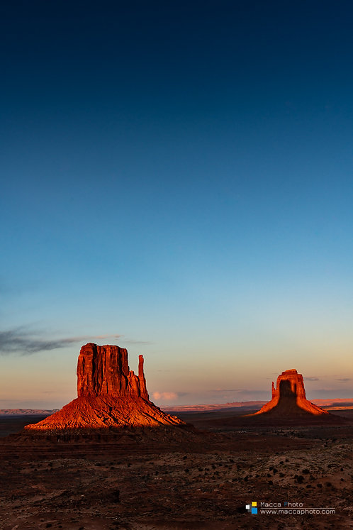 Utah - Monument Valley - East Mitten (Portrait)