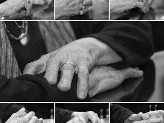 The Elderly Hands of My Mother