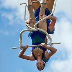 3-high trapeze