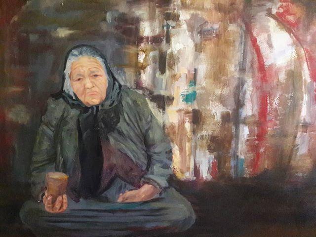 La anciana de la boqueria