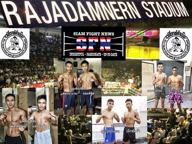 Two current Rajadamnern stadium champions are in action on tonight's Jarmuang promotion
