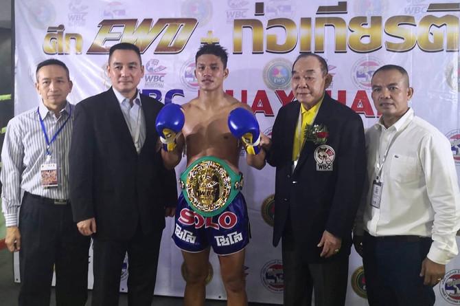 SATANFAA CLAIMS WBC GLORY AT LUMPINEE STADIUM