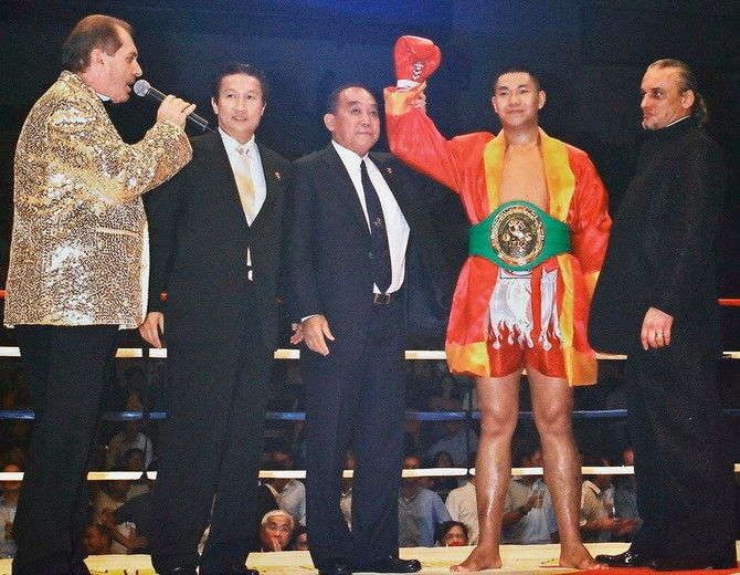 THE WBC MUAYTHAI HISTORY MAKER