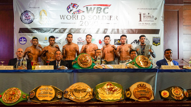WBC WORLD SOLDIER EVENT IS SET FOR LUMPINEE STADIUM