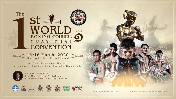 WBC MUAYTHAI WORLD CONVENTION IS COMING TO BANGKOK