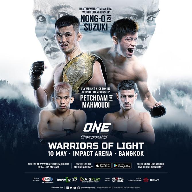 ONE CHAMPIONSHIP: NONG-O HEADLINES WARRIORS OF LIGHT IN BANGKOK