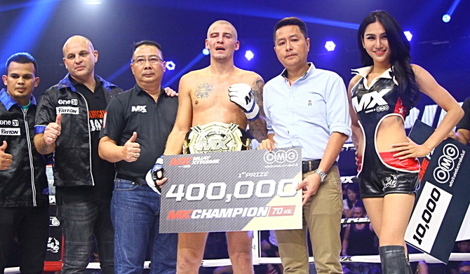 Magnus the magnificent: The new 70kg king of MXMuayXtreme