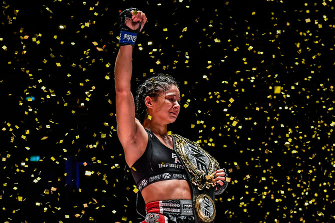 Allycia Hellen Rodrigues is the new Queen of One Championship