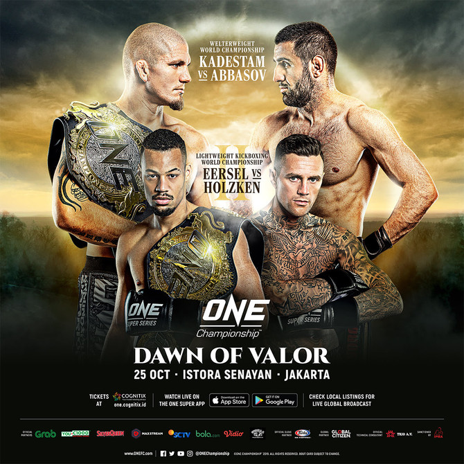 EERSEL SET TO DEFEND HIS ONE CHAMPIONSHIP TITLE IN JAKARTA