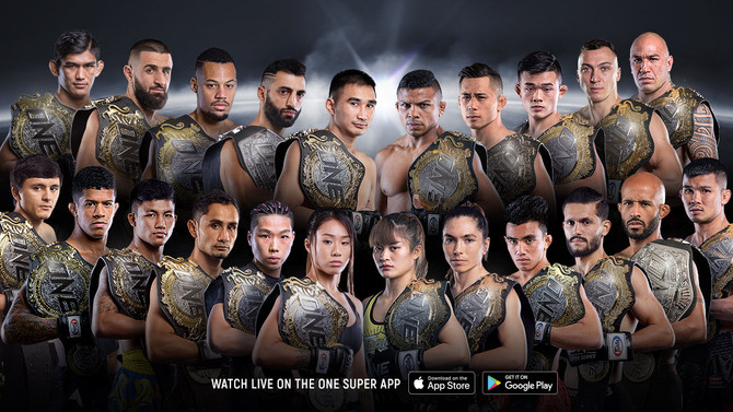ONE CHAMPIONSHIP IS STOCKING UP ON CASH MONEY