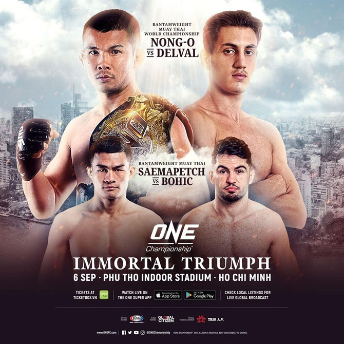 VIETNAM IS SET TO SIZZLE FOR ITS ONE CHAMPIONSHIP DEBUT