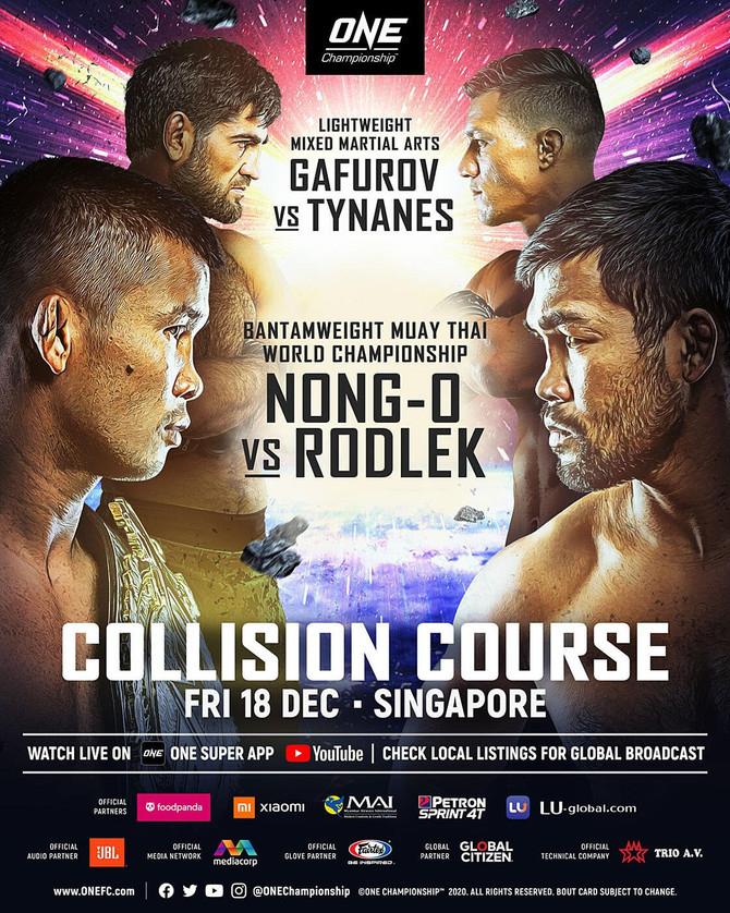 NONG-O VERSUS RODLEK IS COMING TO SINGAPORE
