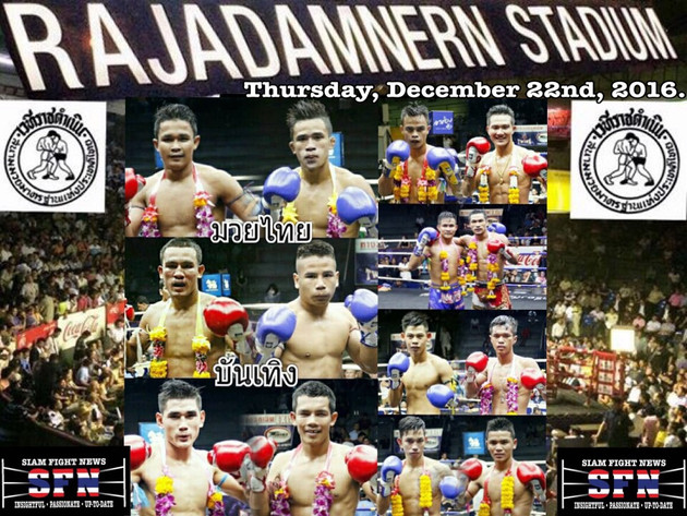The Rajadamnern stadium birthday show is all set for a truly explosive night of elite MuayThai actio