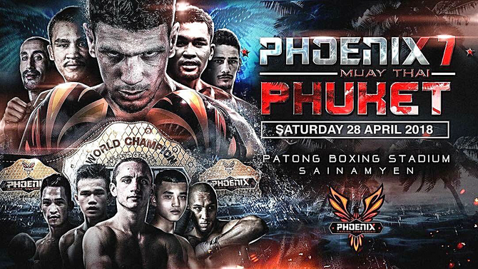 Phoenix 7: MuayThai stars are headed to Phuket