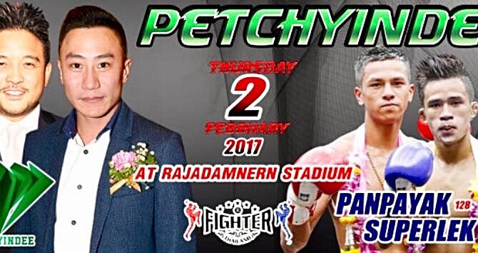 Petchyindee presents: A night of MuayWars at Rajadamnern stadium