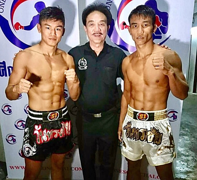 The end of year OneSongchai charity promotion is headlined with Sangmanee taking on Kongsak at Rajad