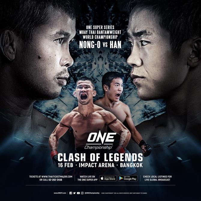 One Championship Returns To Bangkok In February