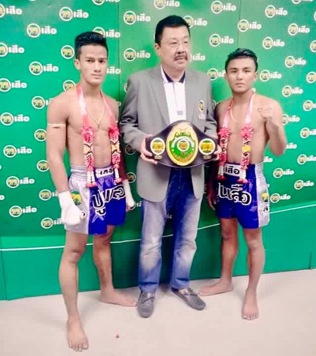The final of the 2016 Poon Suea tournament is set for Lumpinee stadium