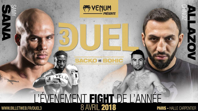 Duel Showdowns: Global stars to collide in France