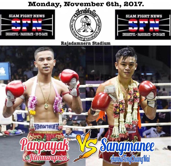 Muay Fantasy: Panpayak versus Sangmanee