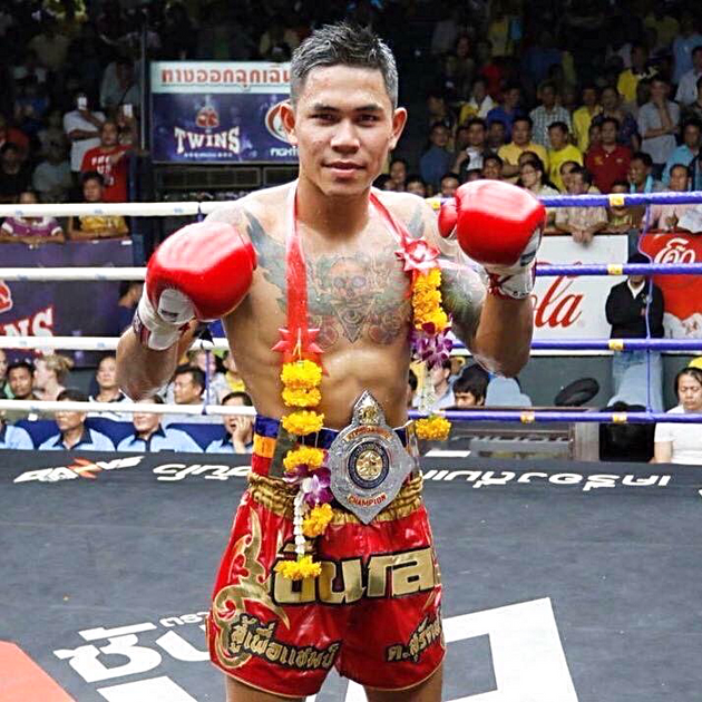 Pernkun Tor Suath is the Rajadamnern stadium fighter of the year for 2016