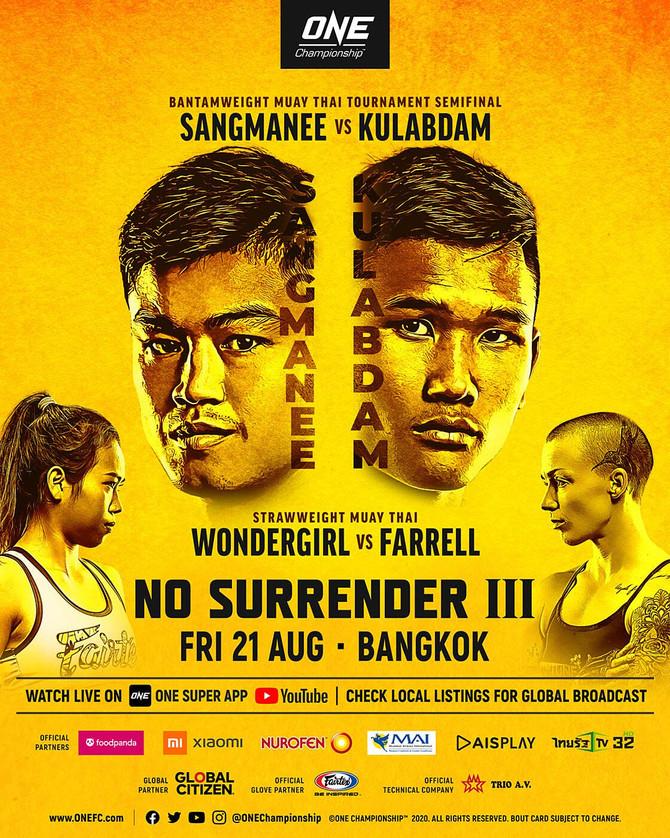 ONE CHAMPIONSHIP: NO SURRENDER III