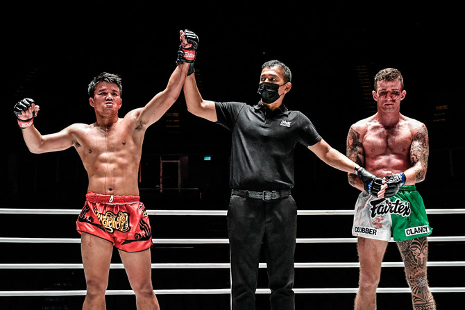 PONGSIRI VERSUS CLANCY LIT UP BANGKOK ON ONE CHAMPIONSHIP