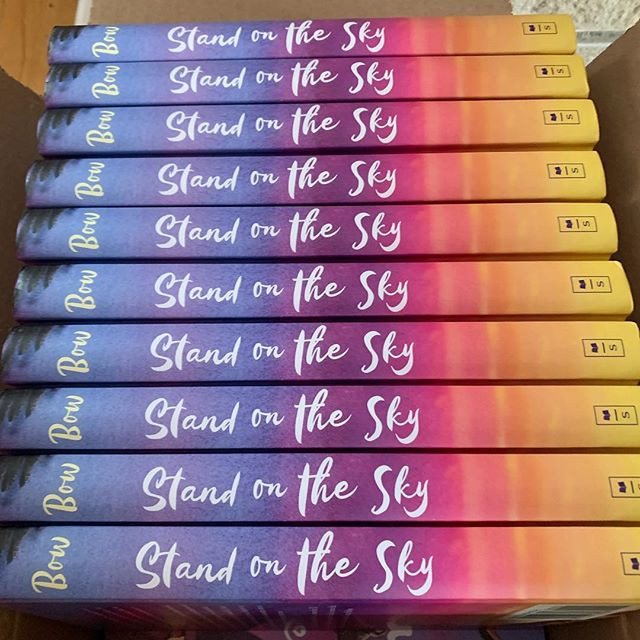 It's launch day!  STAND ON THE SKY is out!