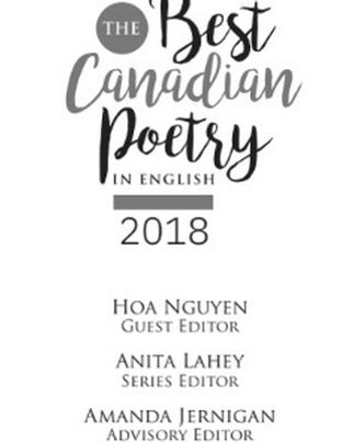 Best  Canadian  Poetry  | Erin Bow, YA Author