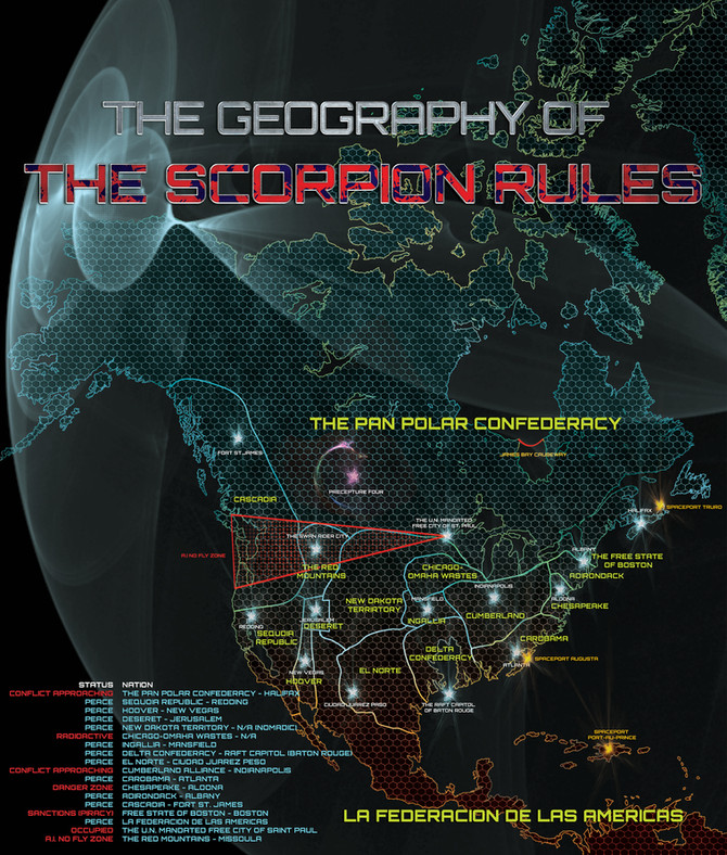 Map of The Scorpion Rules