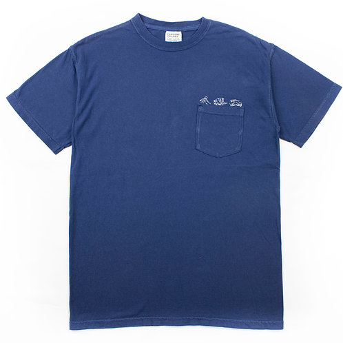 Wave progression - EMB.Tee x Comfort Color