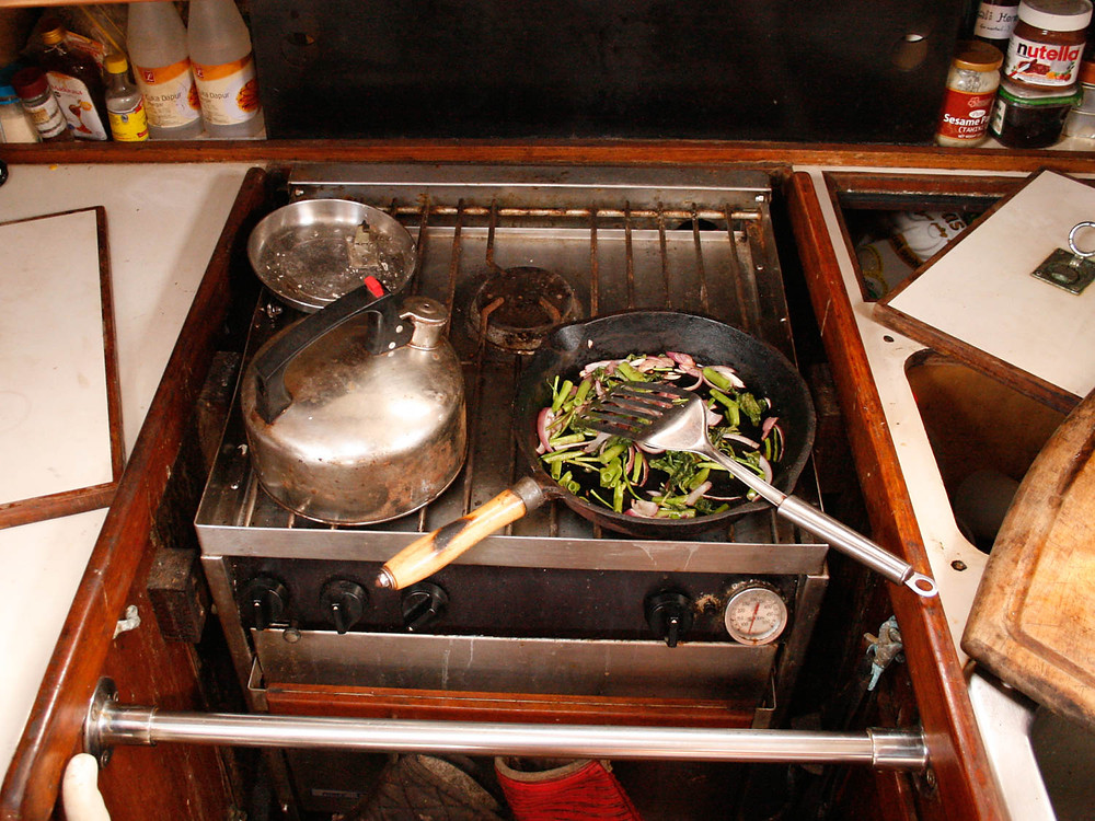 Tips for Cooking Onboard