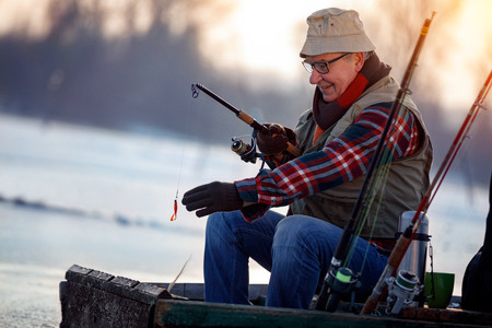 fishing tips for colder weather