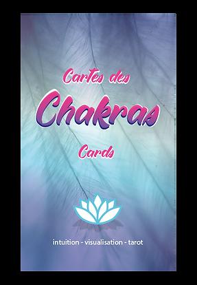 cartes des chakras reiki